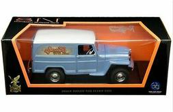 Road Signature 1:18 1955 Willys Jeep Station Wagon Silver Bl