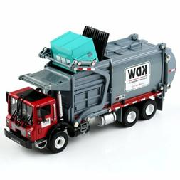 1:24 Scale Diecast Material KDW Transporter Garbage Truck Ve