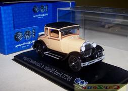 1:43 Minichamps 1928 Model A Standard Coupe, 100 Years of Fo