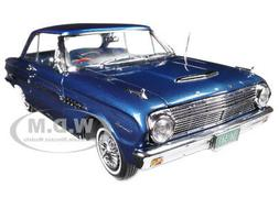 1963 FORD FALCON HARD TOP OXFORD BLUE 1/18 DIECAST MODEL CAR