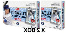 2019 Clearly Authentic Baseball x2 Box Case FACTORY SEALED