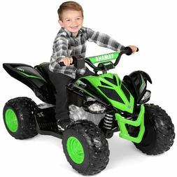 Battery-Powered Ride-On Kids ATV 4 Wheeler Quad Toy Electric