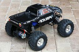 Custom Body Police Style for Traxxas Bigfoot Stampede 1/10 T