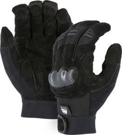 EXO-Tech TPU Knuckle-Neoprene-Cowhide Leather Gloves Powersp