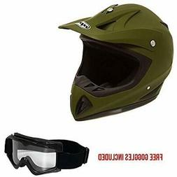Helmets Motorcycle Off Road MX ATV Dirt Bike Motocross UTV M