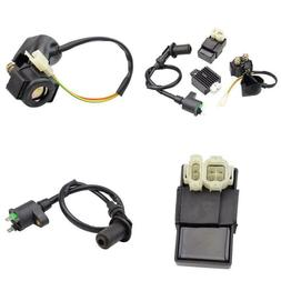 Goofit Ignition Coil Cdi Solenoid Relay Voltage Regulator Fo