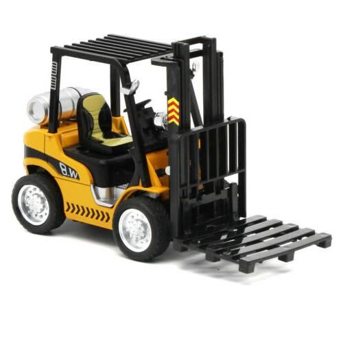 1/24 Scale Forklift Lift Truck Construction Vehicle Diecast