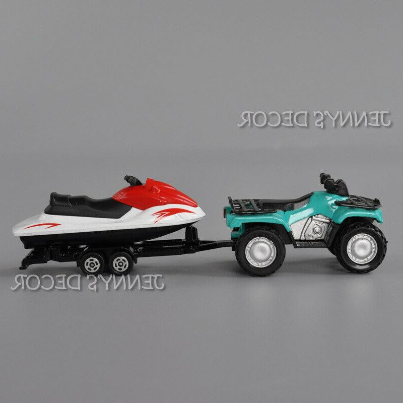 1:50 Metal Quad ATV With Model For Gifts