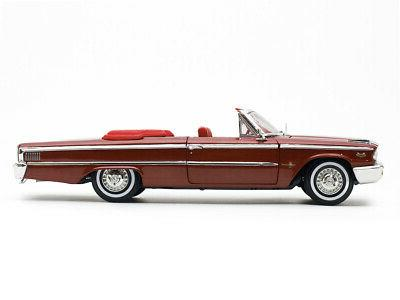 1963 FORD XL OPEN CONVERTIBLE BROWN 1/18 1454