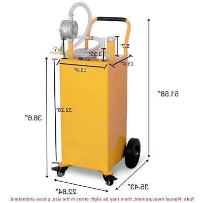 35 Gas Fuel Diesel Transfer Container ATVs