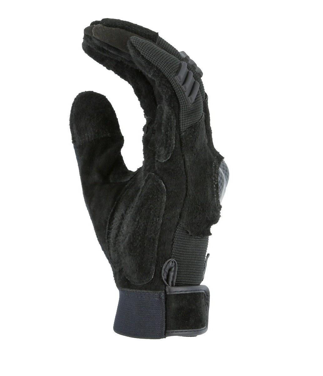 EXO-Tech TPU Knuckle-Neoprene-Cowhide Leather Gloves Powersports-Motorcycle-ATV