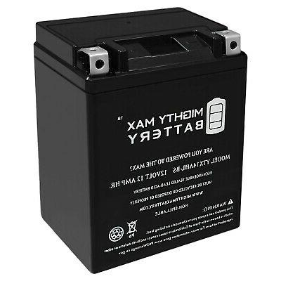 mighty max ytx14ahl 12v 12ah battery replacement