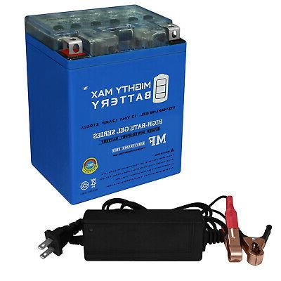 mighty max ytx14ahl gel battery replaces atv