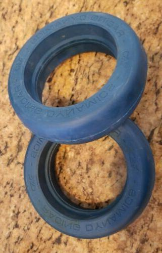 two rad blue hard tires for goped