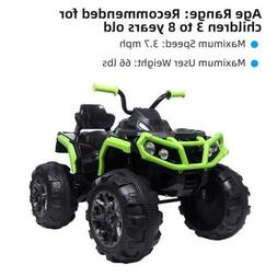 LEADZM Kid Electric ATV Double Drive Ride on Toys 12V Batter