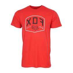 FOX RACING MENS RED MCML T SHIRT