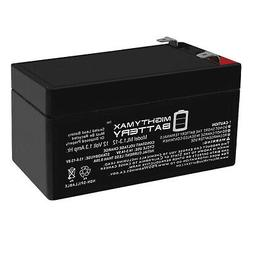 Mighty Max 12V 1.3Ah Battery Replacement for APC Back UPS ES