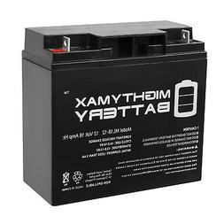 Mighty Max 12V 18AH Battery Replaces BP17-12 GP12170 ES17-12