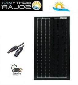 Mighty Max 30 Watts Solar Panel 12V Mono Off Grid Battery Ch