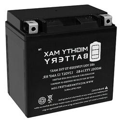 Mighty Max YTX14-BS Battery for Powersport Motorcycle Scoote