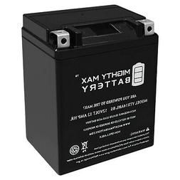 Mighty Max YTX14AHL 12V 12Ah Battery Replacement for Triumph