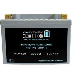 Mighty Max YTX20H-BS Lithium Battery Replacement for MMG YTX