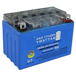 Mighty Max YTX9-BS GEL Battery Replacement for Honda TRX300