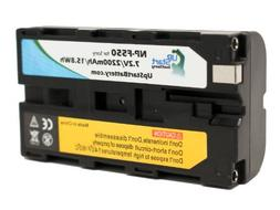 Replacement NP-F550 Battery for Sony NEX-FS700, NEX-FS100, H