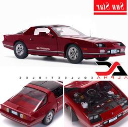 SUNSTAR SS-1941 1:18 1985 CHEVROLET CAMARO IROC-Z RED