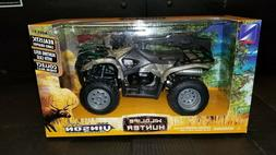 Suzuki Vinson Auto 500 4x4 Camo ATV Wildlife Hunter With Gun